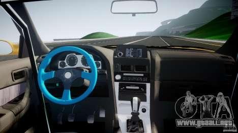 Nissan Skyline R34 GT-R Tezuka Goodyear D1 Drift para GTA 4 vista superior