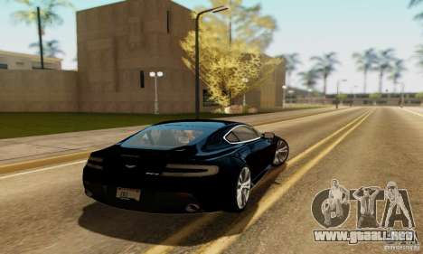 Aston Martin V12 Vantage para GTA San Andreas left