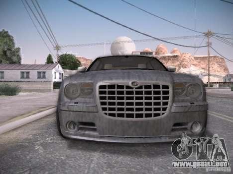 Chrysler 300C SRT8 para GTA San Andreas interior