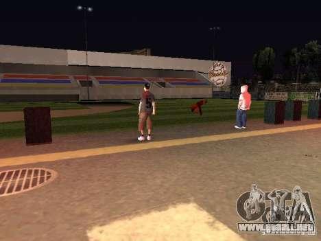Concierto de la AK-47 para GTA San Andreas séptima pantalla