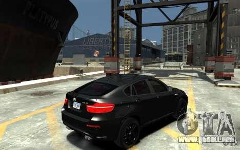 BMW X6 M para GTA 4 visión correcta
