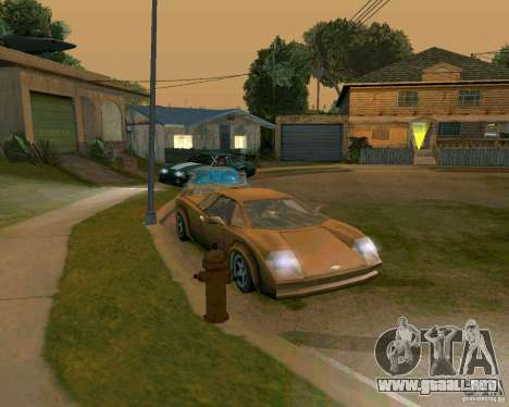 Infernus from Vice City para GTA San Andreas left