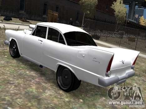 Plymouth Savoy 57 para GTA 4 left