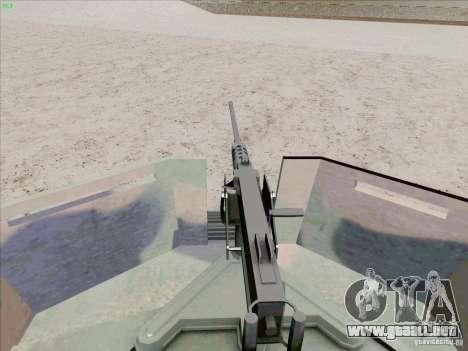 Hummer H1 para la vista superior GTA San Andreas