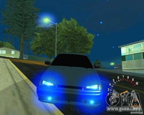 Ferarri 2113 VAZ para vista inferior GTA San Andreas