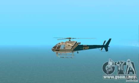AS350 Ecureuil para GTA San Andreas left