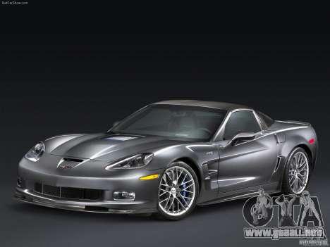 Pantallas de carga Chevrolet Corvette para GTA San Andreas segunda pantalla