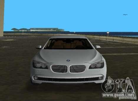 BMW 750 Li para GTA Vice City vista lateral