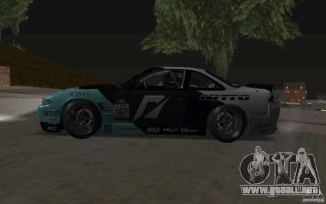 Nissan S14 Matt Powers 2012 para visión interna GTA San Andreas