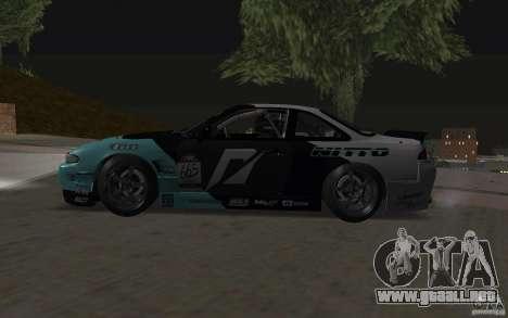 Nissan S14 Matt Powers 2012 para visión interna GTA San Andreas
