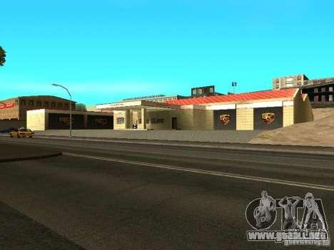 Garaje de Porsche para GTA San Andreas