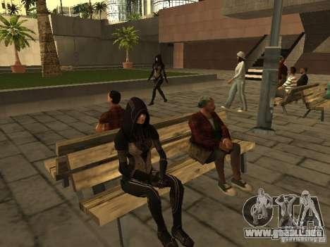 Girls from ME 3 para GTA San Andreas quinta pantalla