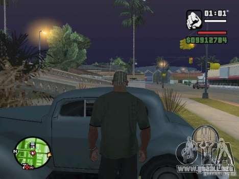Recogida de bloqueo para las máquinas como en Ma para GTA San Andreas segunda pantalla