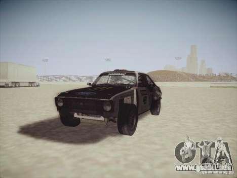 Ford Escort MK2 Gymkhana para GTA San Andreas