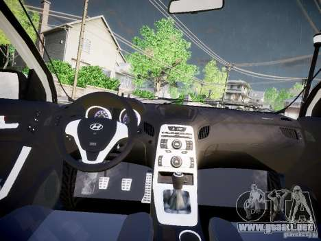 Hyundai Accent Era para GTA 4 Vista posterior izquierda
