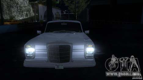 Mercedes-Benz 300SE US para GTA San Andreas left