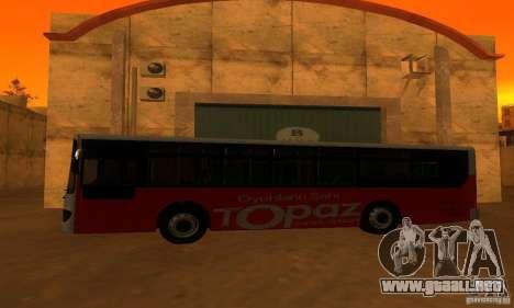 Daewoo Bus BC211MA para GTA San Andreas left