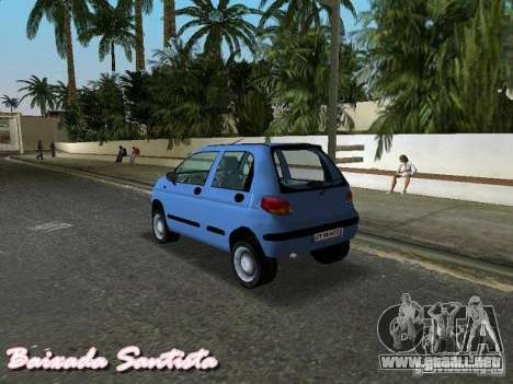Daewoo Matiz para GTA Vice City left