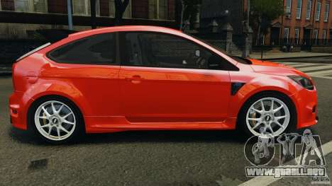 Ford Focus RS para GTA 4 left