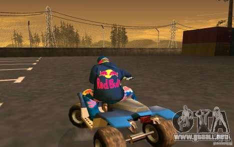 Red Bull Clothes v1.0 para GTA San Andreas novena de pantalla