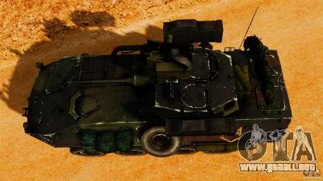 LAV-25 IFV para GTA 4 visión correcta