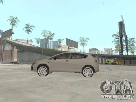 Seat Leon Cupra para GTA San Andreas left