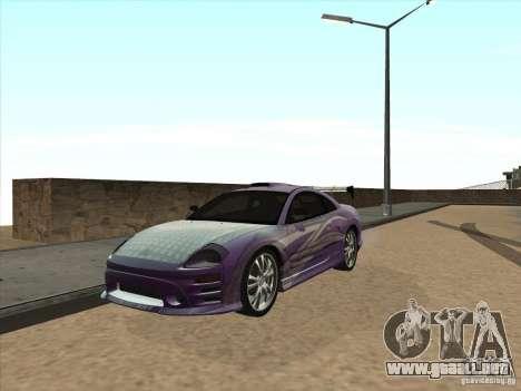 Mitsubishi Eclipse Spyder 2FAST2FURIOUS para GTA San Andreas