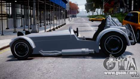 Caterham Super Seven para GTA 4 left