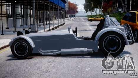 Caterham Super Seven para GTA 4 left