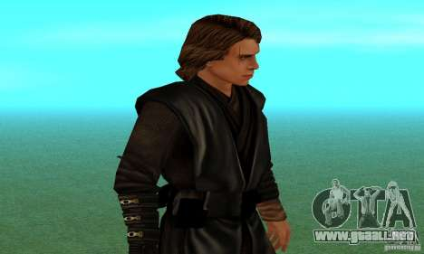 Anakin Skywalker para GTA San Andreas segunda pantalla