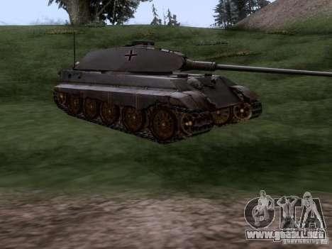 PZ VII Tigre II tigre real VIB para la visión correcta GTA San Andreas