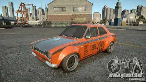 Ford Escort Mk1 para GTA 4 vista interior