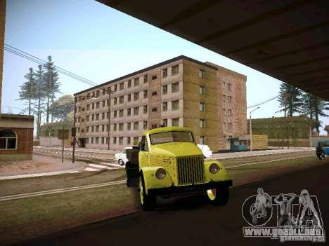 GAZ 51 Assinizator para GTA San Andreas vista hacia atrás