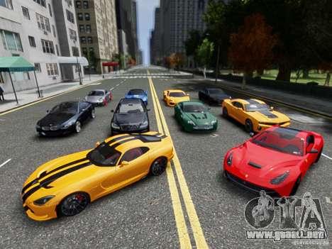 Real Car Pack 2013 Final Version para GTA 4
