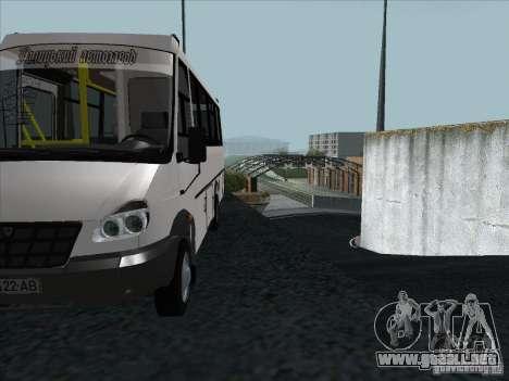 Golaz 3207 para vista lateral GTA San Andreas