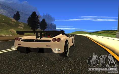 Ferrari Enzo ImVehFt para la visión correcta GTA San Andreas