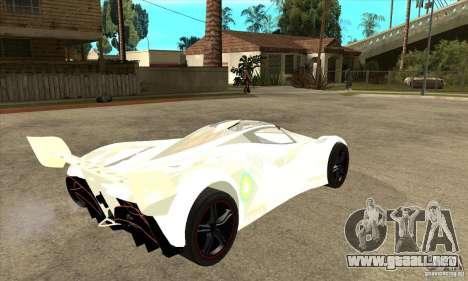 Mazda Furai para la visión correcta GTA San Andreas