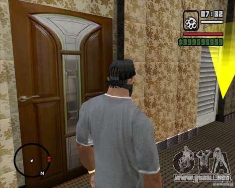 Sustitución de la CJeâ casa entera para GTA San Andreas sucesivamente de pantalla