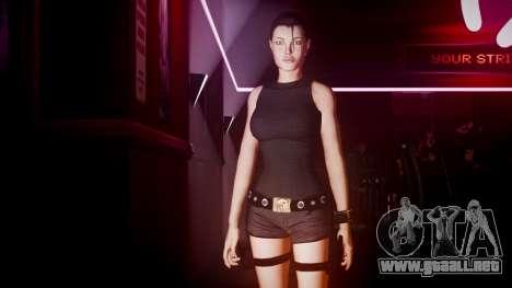 Angelina Jolie (Tomb Raider) para GTA 4 quinta pantalla