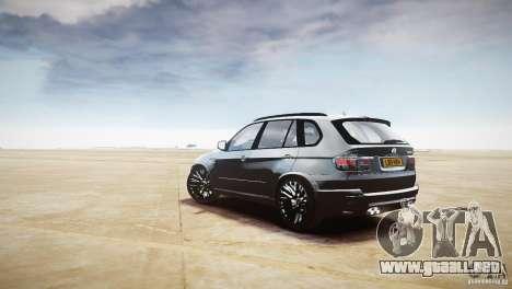 BMW X5M 2011 para GTA 4 visión correcta