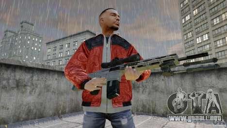 RSASS de MW3 (francotirador) para GTA 4 segundos de pantalla