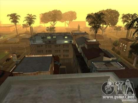 Mapa de Parkour y bmx para GTA San Andreas segunda pantalla