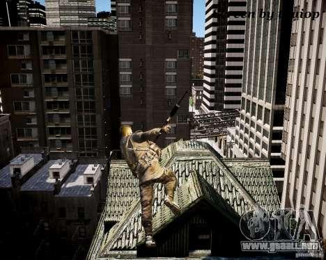 Modern Warfare 3 Soap Europe para GTA 4 adelante de pantalla