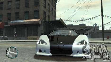Shelby Super Cars Ultimate Aero para GTA 4 Vista posterior izquierda