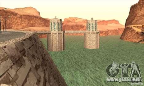 La nueva presa para GTA San Andreas quinta pantalla