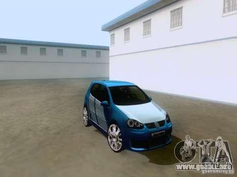 Volkswagen Golf V GTI para la visión correcta GTA San Andreas