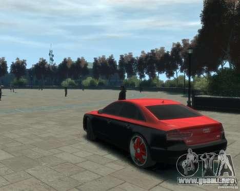 Audi A8 tuning para GTA 4 left