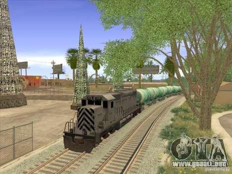 Tanque no. 517 94592 para la visión correcta GTA San Andreas