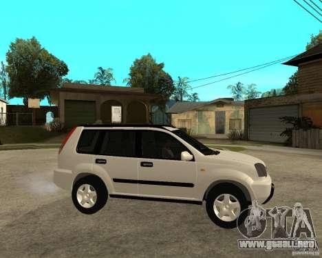 NISSAN X-TRAIL 2001 para la visión correcta GTA San Andreas