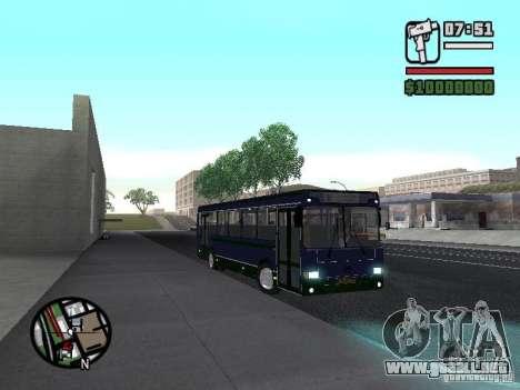 LIAZ 5256.25-II para visión interna GTA San Andreas